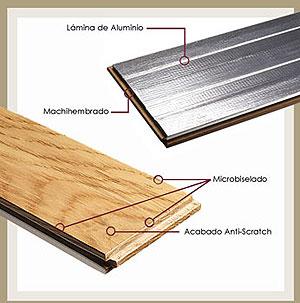 Brico castellar almacen de maderas vigas pergolas - Listones de aluminio ...